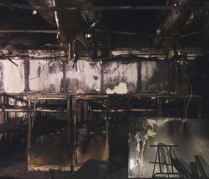 Commercial Fire Loss Before